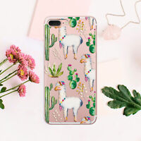 Succulent iPhone 7 8 Plus Cover Llama iPhone XR Case Alpaca iPhone 6 6s Sleeve