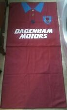RETRO WEST HAM MICRO FIBRE 400GSM SHIRT BEACH TOWEL..NEW