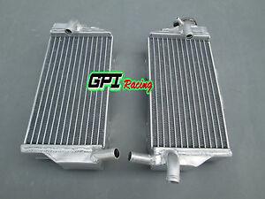 L&R FOR Honda CR250 CR250R 2005 2006 2007  aluminum radiator