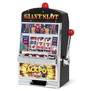 lighted casino cherry slot machine bank