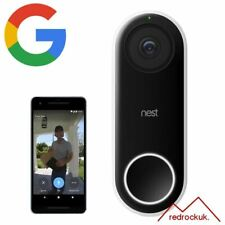 Google Nest Hello HD Video 24/7 Streaming Two-Way Communication Ring Doorbell