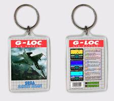 LLAVERO G-LOC SEGA GAME GEAR KEYRING