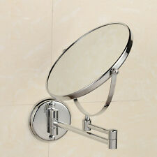 10x Wall Mounted Magnifying Compact Beauty Makeup Cosmetic Mirror Dual Sided