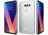 Unlocked LG V30 H931 4G LTE 64GB (AT&T) GSM World Phone - Silver & Black Color