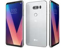 Unlocked LG V30 H931 4G LTE 64GB (AT&T) GSM World Phone - Silver & Black Color