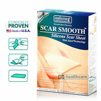 Silicone Scar Therapy Treatment Sheet Reduce Hypertrophic Keloid Medical Grade