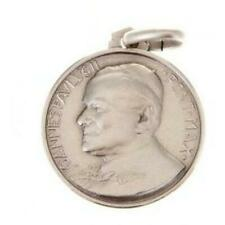 St. John Paul II Medal - 925 Sterling Silver - Blessed By Pope