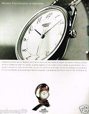 Publicité advertising 1997 La Montre Arceau par Hermès