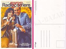 ENZO TORTORA e RENÉE LONGARINI Copertina RadioCorriere TV, 17-23 luglio 1977