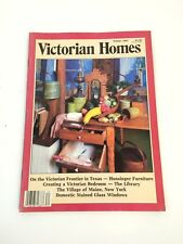 Victorian Homes Magazine Winter 1987 Hunzinger Furniture Maine, New York  F6