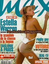 French Maximal 10/03,Estella Warren,October 2003,NEW
