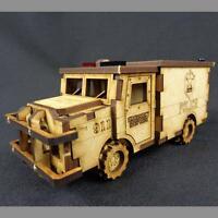 TTCombat - City Scenics - DCS005 - Police Truck, great for Batman
