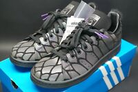 adidas Stan Smith Core Black Xeno Reflective Trainers Size UK 6.5 US 7 OG Shoes