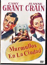 MURMULLOS EN LA CIUDAD de Mankiewicz. Tarifa plana en envío dvd España, 5 €