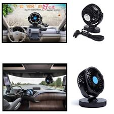 Universal Mini Air Conditioner For Car 12V 2 Speed Strong Wind Fan Lightweight