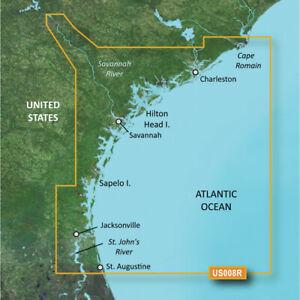 Garmin BlueChart g3 Vision HD - VUS008R - Charleston to Jacksonville -microSD/SD