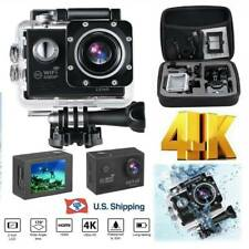 Sports Action Camera 4K 1080P Ultra HD Waterproof Cam Wifi DV Camcorder Digital