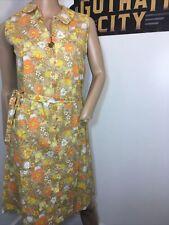 New listing Vintage Cotton Zippa By Lenbarry 1960's Dress