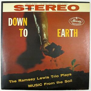 RAMSEY LEWIS TRIO Down To Earth LP 1958 JAZZ NM- NM-