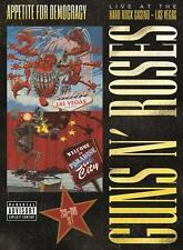 GUNS N' ROSES - APPETITE FOR DEMOCRACY - LIVE HARD ROCK CASINO [2CD & DVD] NEW