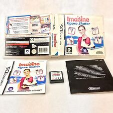 Nintendo Ds Games Imagine Figure Skater cartridge case manual kids video game