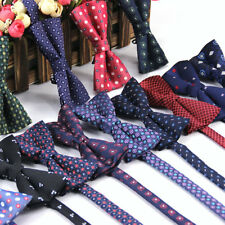 Lot 10 Packs Men's Bow Tie Adjustable Polka Dot Floral Bowtie Men Suit Butterfly