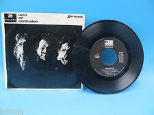 Genesis - Land of Confusion / Feeding the Fire - Pic Sleeve - Atlantic 45 RPM