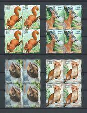 FRANCE  - 2001 YT 3381 à 3384 blocs de 4 - ANIMAUX - TIMBRES NEUFS** LUXE