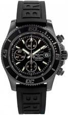 M13341B7/BD11-152S Brand New Breitling Superocean Chronograph Blacksteel Watch