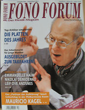 Fono Forum 12/06 Mauricio Kagel, Nikolai Demidenko, G. Boldoczki, S. Khachatryan