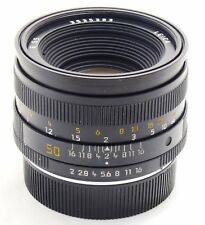 Leica 50mm f/2 Summicron-R lens no. 3535383 3rd cam 11216 R mount EXC++