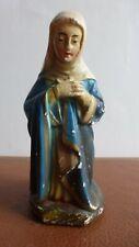 Ancien grand santon crèche Eglise.Personnage Sainte Vierge Marie... Devineau ..D