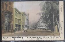 Postcard MAUCH CHUNK Pennsylvania/PA  Market Street Business Storefronts 1906