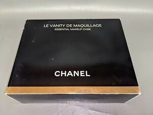 Brand New CHANEL La Vanity De Maquillage Makeup Bag Case 100% W/ Box (H3)