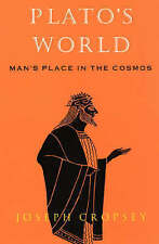 Plato's World: Man's Place in the Cosmos-ExLibrary