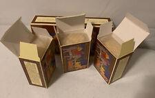 CRABTREE EVELYN MYSORE SANDALWOOD VINTAGE SOAP Box Set Of 3 BARS 1978