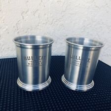 Mint Julip Cups Bulleit Bourbon Branded Superb Quality And Make 2 Pieces