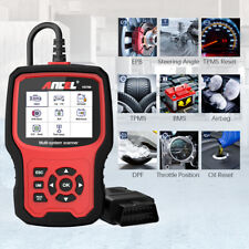 Automative OBD2 Scanner All System ABS Airbag SRS EPB TPMS Oil Reset Diagnostic