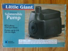 Little Giant Miniature Submersible Pump 519550 PES-A 63 GPH 115V Fountains Ponds