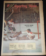 Jan. 24, 1970 The Sporting News ROGATIEN VACHON  - Montreal Canadiens