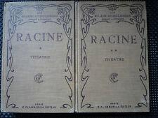 J. racine-theatre complet tome 1 et 2