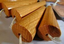 OAK WOODEN  LIGHT PULL - cord pull - blind pull - HAND CRAFTED