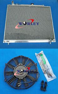3 Row Radiator + fan for Mitsubishi Pajero Montero Shogun NM NP NS NT V6 manual