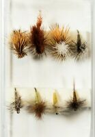 Dry Flies For Fly Fishing - 8 Piece Assortment .	NP-26 Flies
