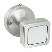 FEIT 73706 - Mini LED Single Head Security Flood Light, Stainless Steel Finish,