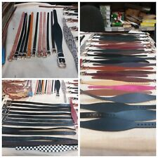 50 x Slight seconds Dog Collars -different sizes,colours,patterns dog trust #484