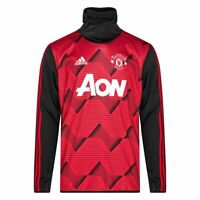 adidas Manchester United FC Pre Warm Up Top Size 3XL Red RRP £85 Brand New RARE