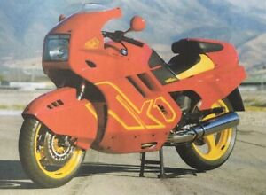 BMW K1 - 17 PAGE FILE feat ROAD TESTS, ARTICLES, REPORTS, ADVERTS etc