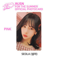 WJSN : Special Album - FOR THE SUMMER Official Photocard - SEOLA (Pink Ver.)
