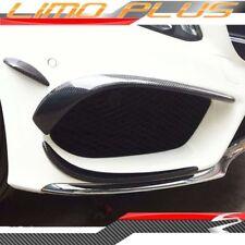 Carbon Fiber Front Bumper Canard Set for Mercedes Benz C W205 C205 pz37